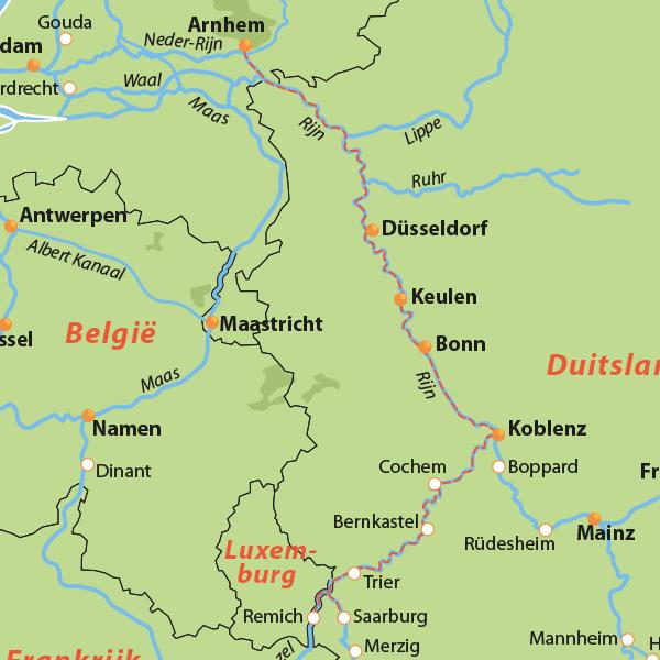 cruise 13 dagen over moezel en saar naar Luxemburg